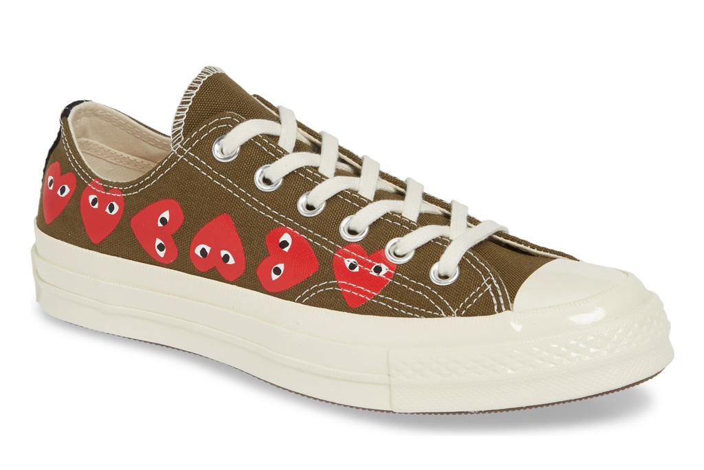 comme des garcons converse chuck taylor, mother's day sneaker gifts