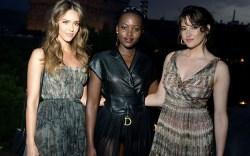 Jessica Alba, Lupita Nyong'o and Shailene