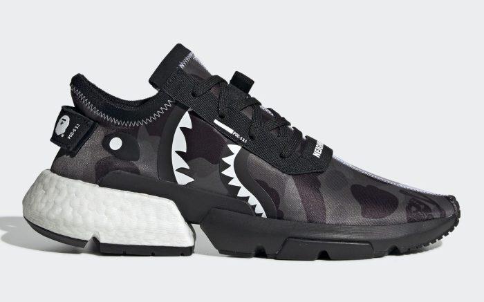 Bape x Neighborhood x Adidas POD S3.1
