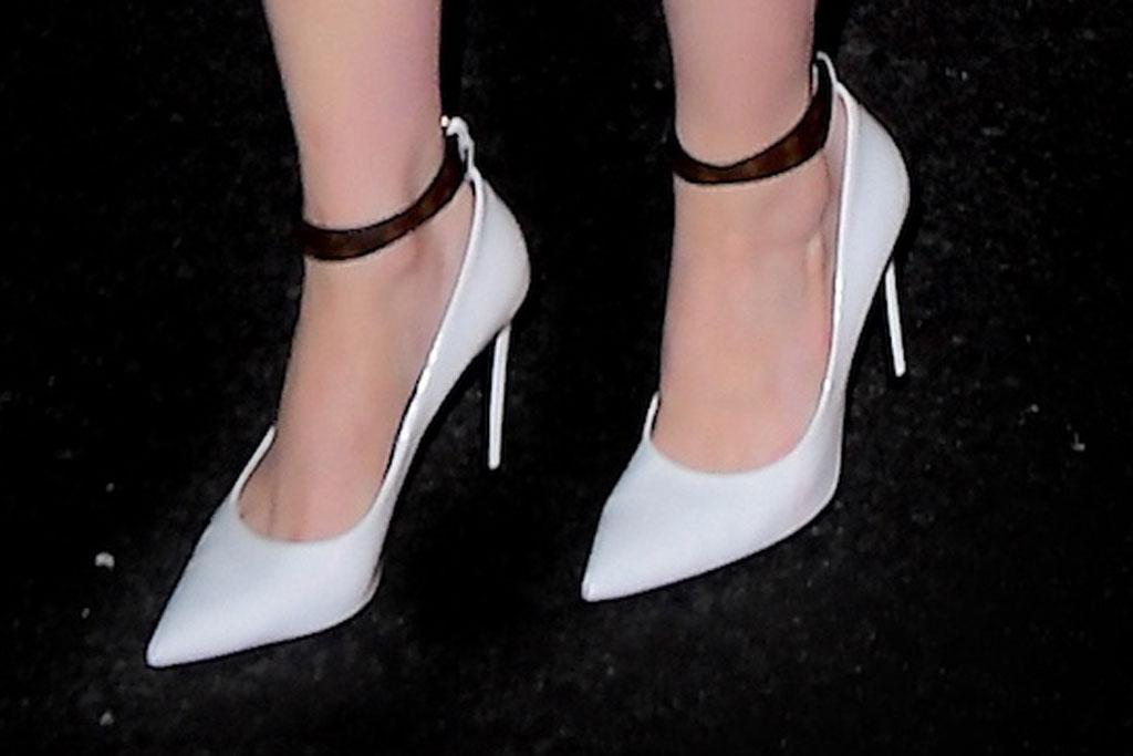 Emma Stone, saturday night live, snl, celebrity style, new york city, celine, minidress, louis vuitton, pumps