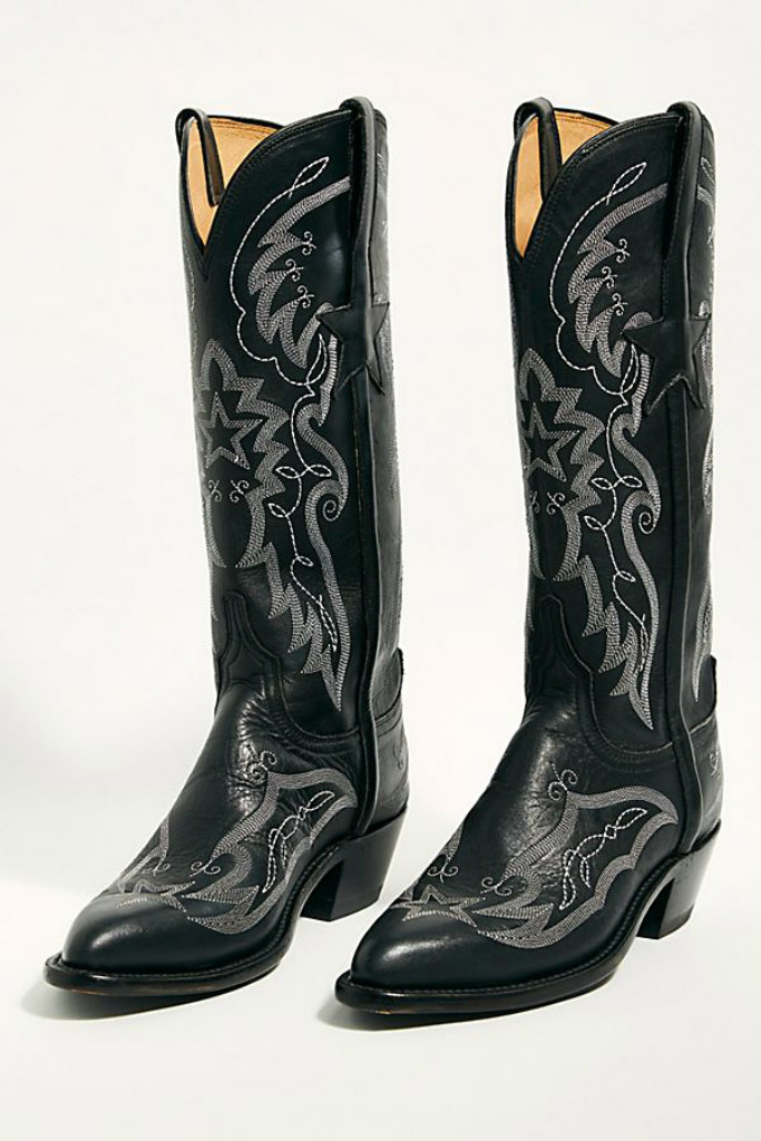 free people, cowboy boots