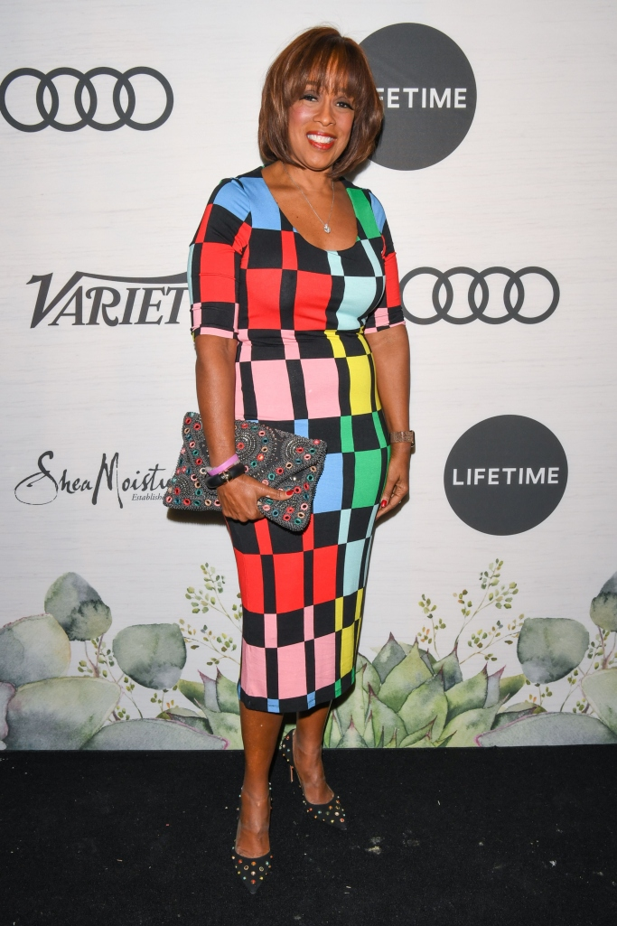 gayle king, variety women of power luncheon
