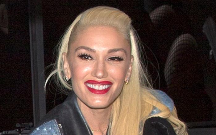 Gwen Stefani, red lipstick