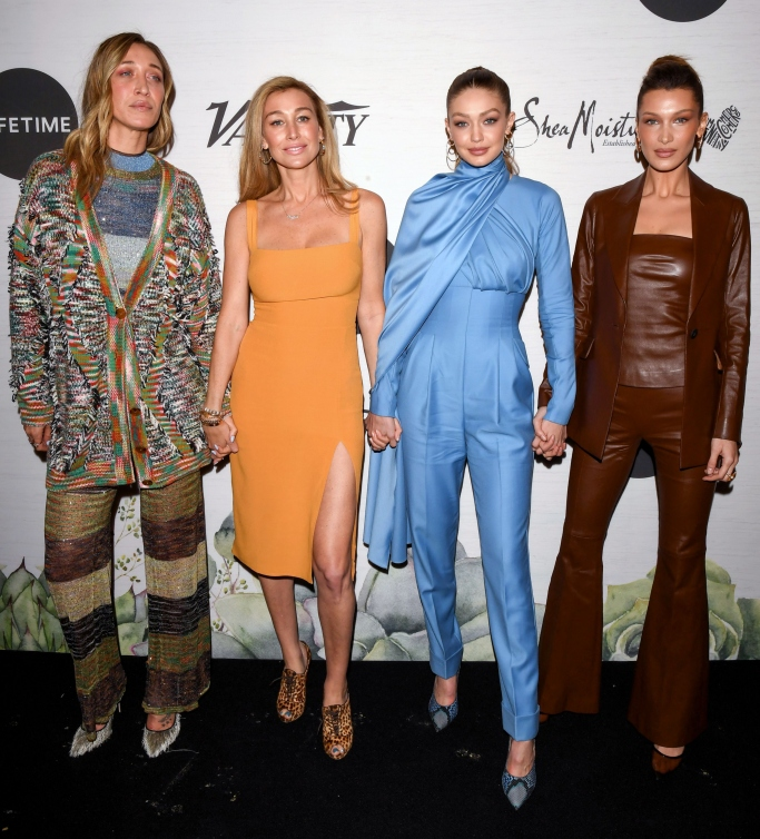 Alana Hadid, Marielle Hadid, Gigi Hadid and Bella Hadid