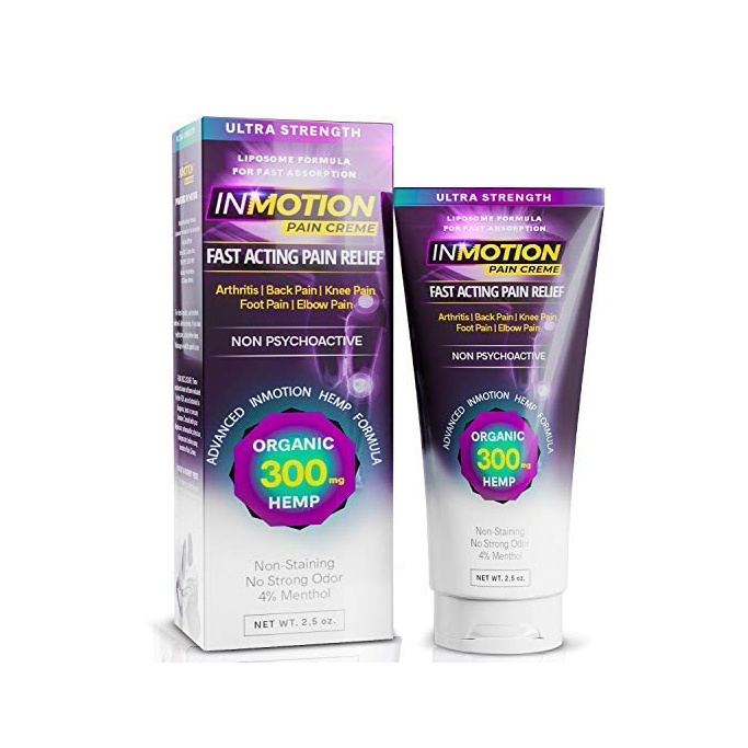 Inmotion Hemp Pain Relief Cream