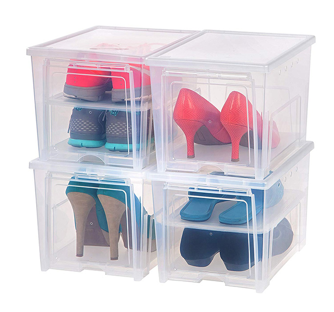 Iris easy access shoe box