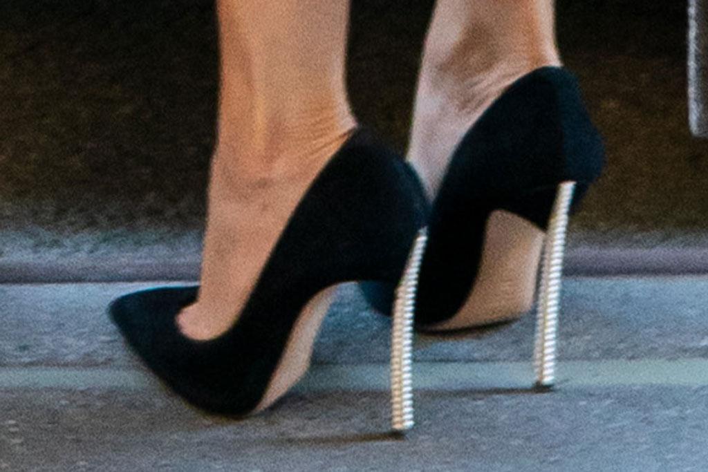 jennifer lopez, jlo, casadei, blade heels, black pumps