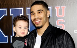 Jayson Tatum with sonRookie USA Fashion