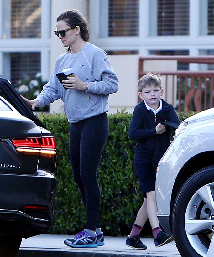 Jennifer Garner and Samuel AffleckJennifer Garner out and about, Los Angeles, USA - 25 Mar 2019
