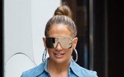 Jennifer Lopez, street style, miami, celebrity