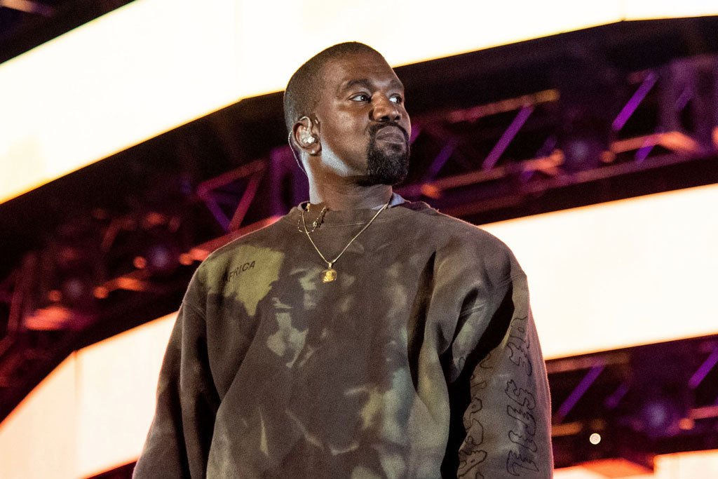 Kanye West Steps Out in Something Other