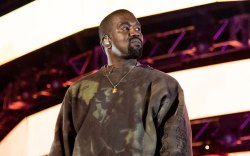 Kanye West, Coachella, surprise performance, kid