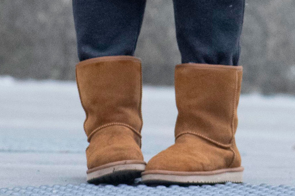 Katie Holmes, ugg boots, celebrity style, 2019, new york city