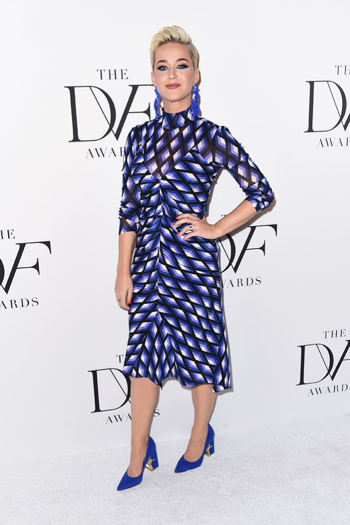 Katy Perry, katy perry collections celina, 10th Annual DVF Awards, Arrivals, The Brooklyn Museum, Brooklyn, USA - 11 Apr 2019Wearing Diane von Furstenberg