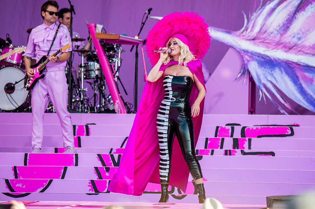 Katy Perry performs at the New Orleans Jazz and Heritage Festival, in New Orleans2019 Jazz and Heritage Festival - Weekend 1 - Day 3, New Orleans, USA - 27 Apr 2019