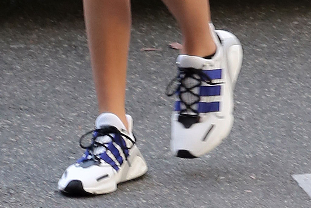 Kendall Jenner , adidas, celebrity style, sneakers, pilates, los angeles