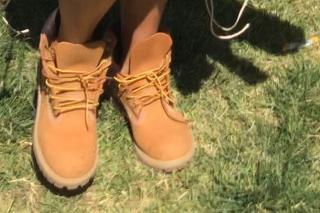 Khloé Kardashian, timberland boots, sunday service, easter, coachella