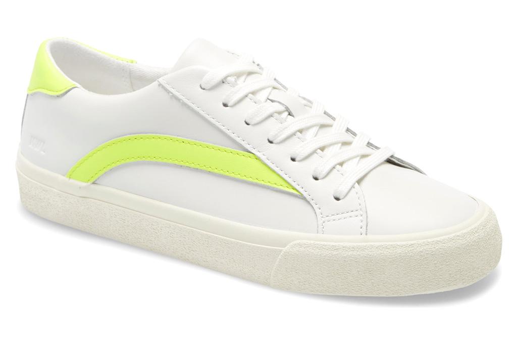madewell sneakers, yellow