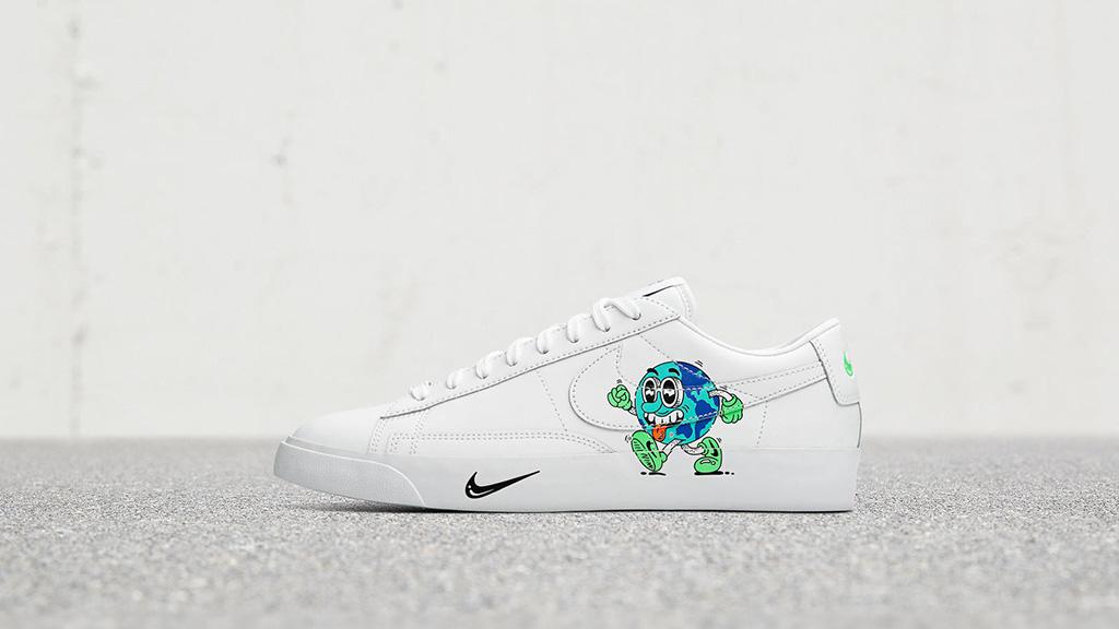 sesión desagradable Maldición  Nike Collaborates with Artist Steven Harrington for Earth Day Sneakers –  Footwear News
