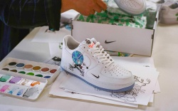 Nike Collaborates with Artist Steven Harrington