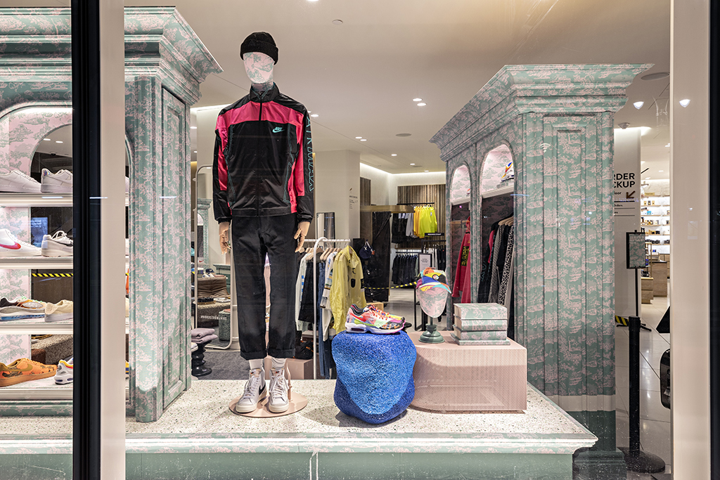 Nordstrom x Nike men's shop