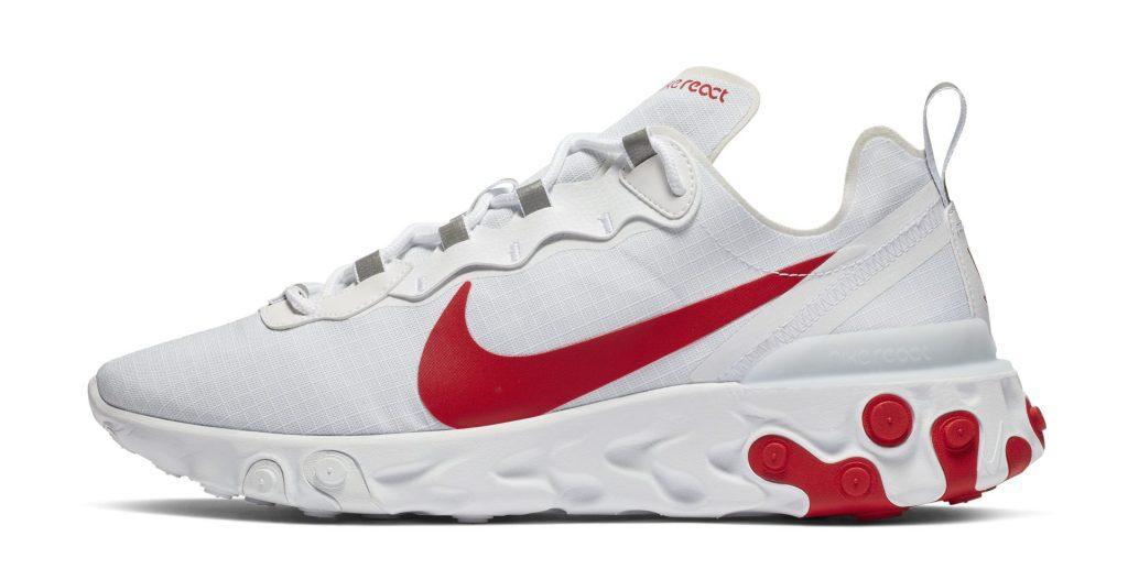 Nike React Element 55 University Red