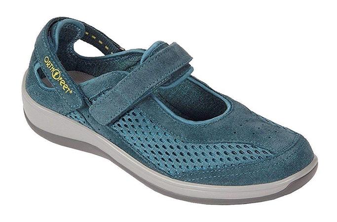 Orthofeet Sanibel Mary Jane shoe for diabetes