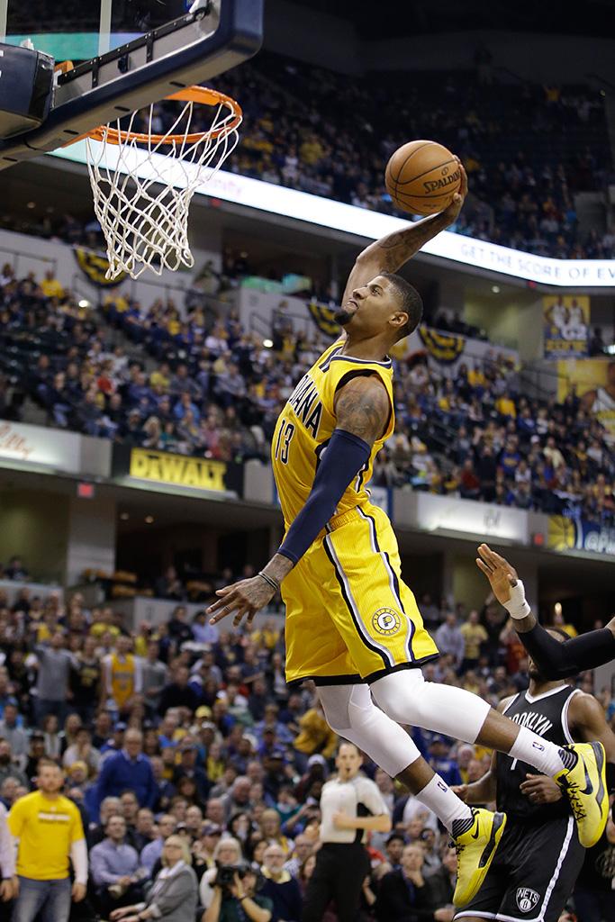 Paul George Indiana Pacers Nike Kobe 8