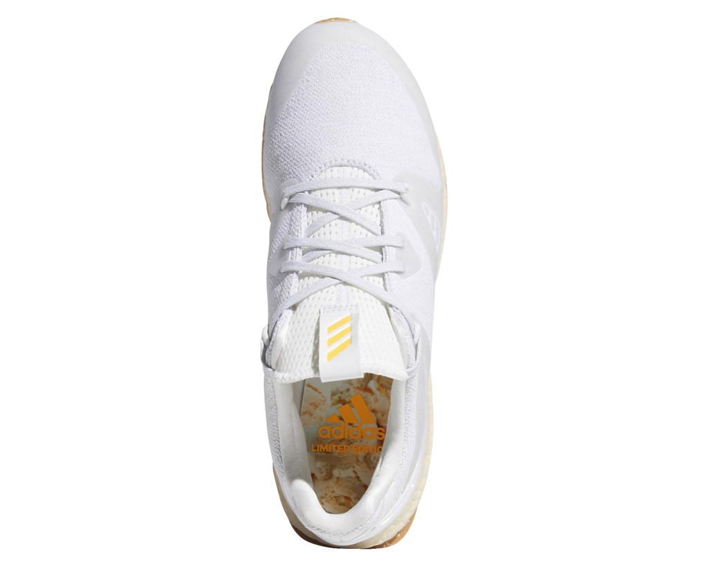 Adidas Crossknit 3.0, peach ice cream shoe, white shoe, golf shoe