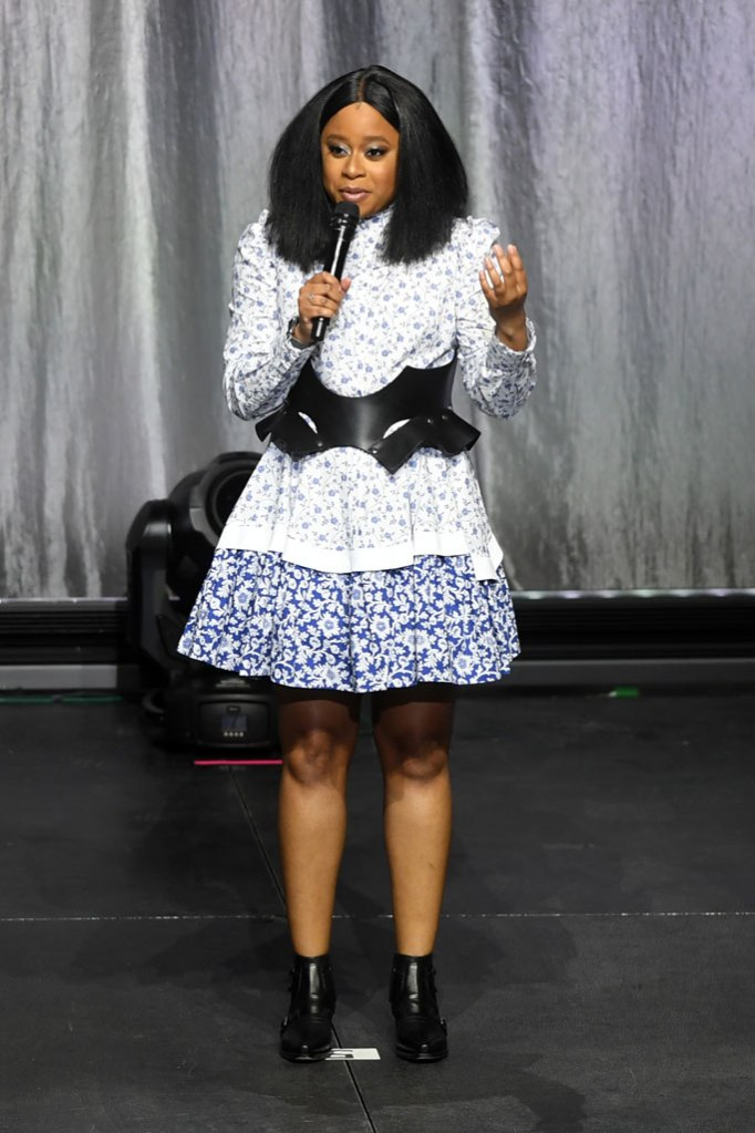 Phoebe robinson, celebrity style, michelle obama boot tour, dior ankle boots, alexander mcqueen dress