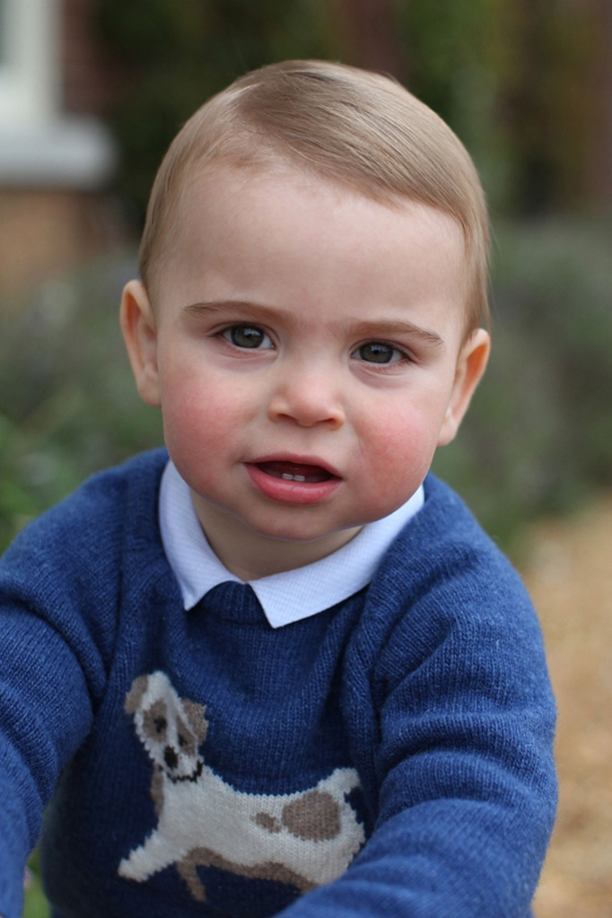 prince louis, kate middleton, celebrity style , british royal family, prince william, first birthday