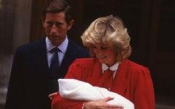 Princess Diana, Prince Harry, St. Mary's