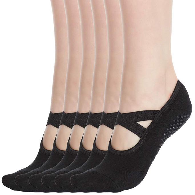 Qing Non Skid Socks