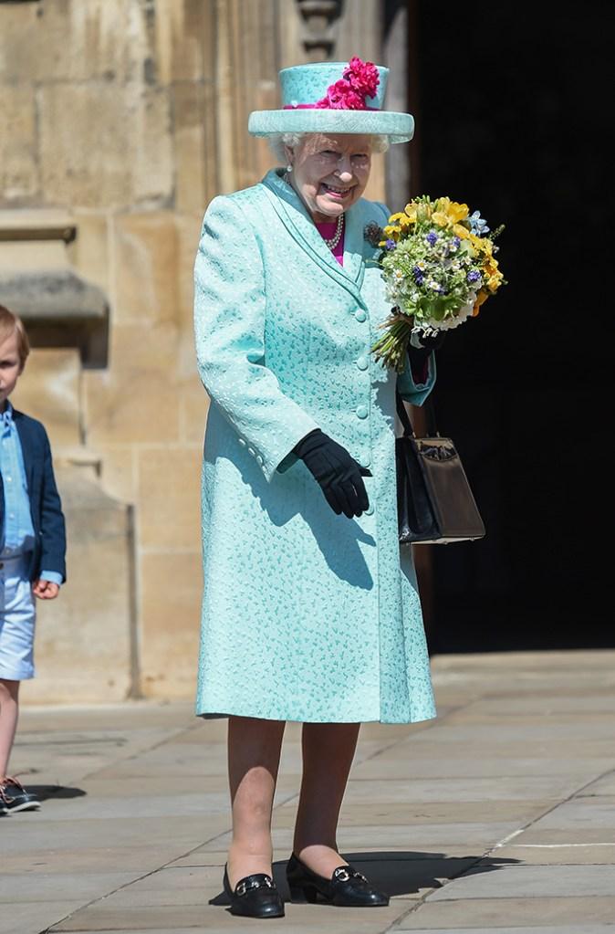 Queen Elizabeth IIEaster Sunday service, St George's Chapel, Windsor, UK - 21 Apr 2019