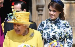 queen elizabeth, princess eugenie, celebrity style,