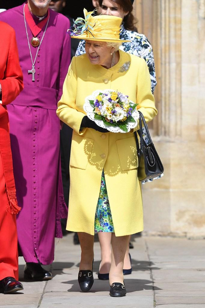 Queen Elizabeth II, Royal Maundy Service, St George's Chapel, Windsor, Berkshire, UK - 18 Apr 2019