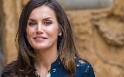 Queen LetiziaSpanish Royal Family attend mass,