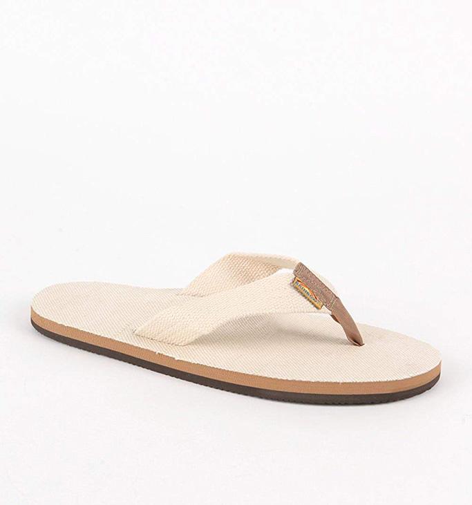 Rainbow Sandals Men'sHemp Single Layer Sandal