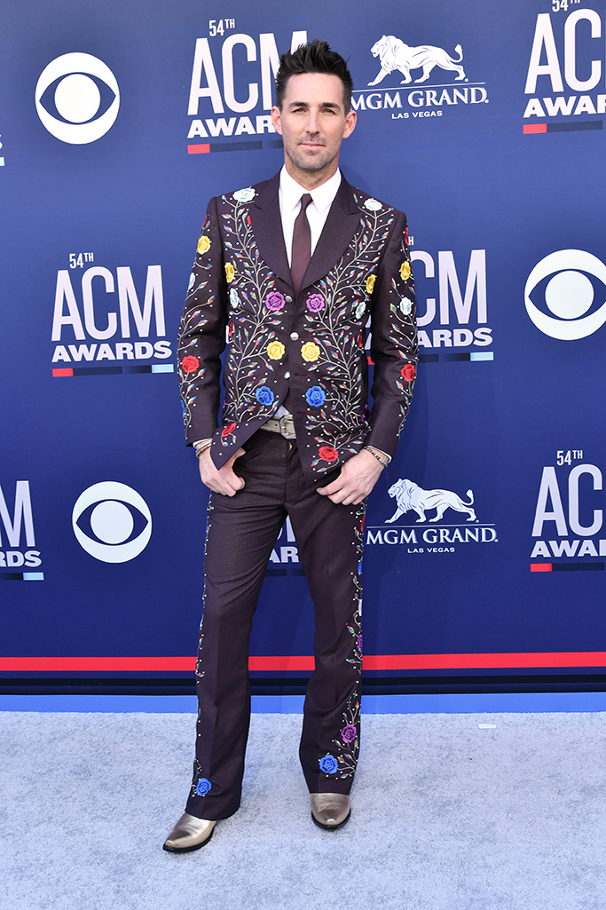 Jake Owen, 54th Annual ACM Awards, Arrivals, Grand Garden Arena, Las Vegas, USA - 07 Apr 2019