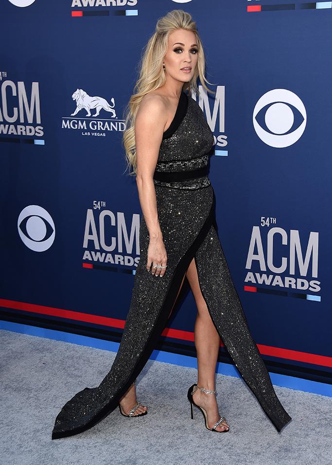 Carrie Underwood 54th Annual ACM Awards, Arrivals, Grand Garden Arena, Las Vegas, USA - 07 Apr 2019