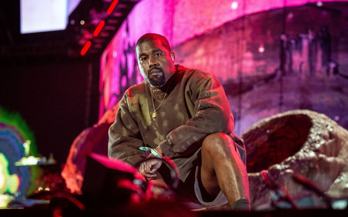 Kanye West performs with Kid Cudi at the Coachella Music & Arts Festival at the Empire Polo Club, in Indio, Calif. 2019 Coachella Music And Arts Festival - Weekend 2 - Day 2, Indio, USA - 20 Apr 2019