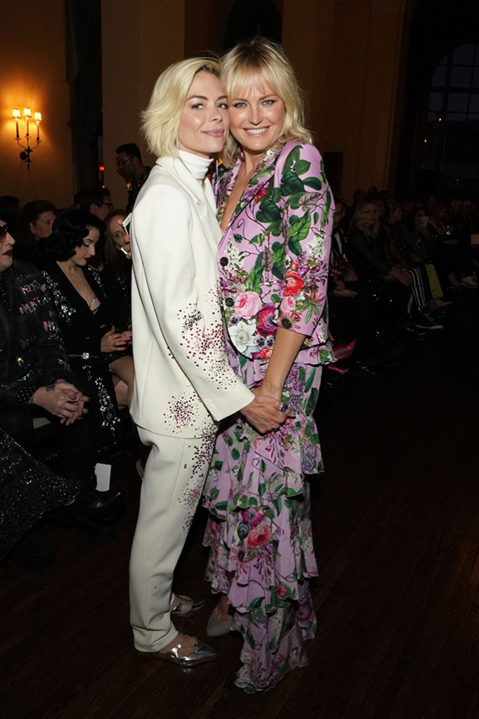 Jaime King, Malin Akerman at the After PartyLibertine show, Fall Winter 2019, The Ebell, Los Angeles, USA - 26 Apr 2019