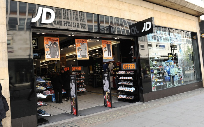 JD Sports store Various - 14 Apr 2012