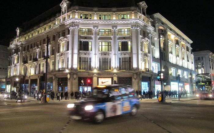 Nike Town Store, Oxford CircusVarious, London, Britain - 3 Feb 2014