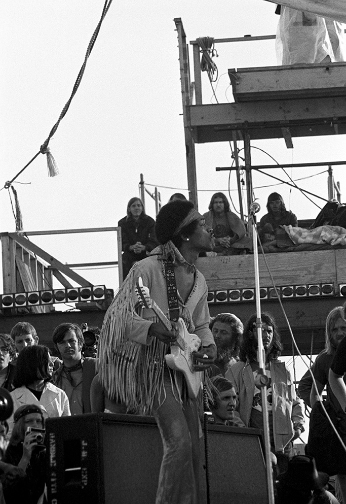 Jimi HendrixWoodstock - 18 Aug 1969
