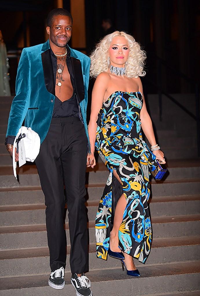 Vas J. Morgan and Rita Ora, Marc Jacobs and Char Defrancesco's wedding reception.