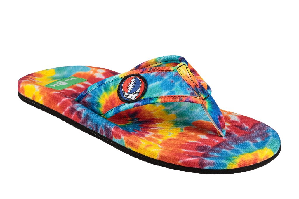 Sanuk Grateful Dead Collaboration