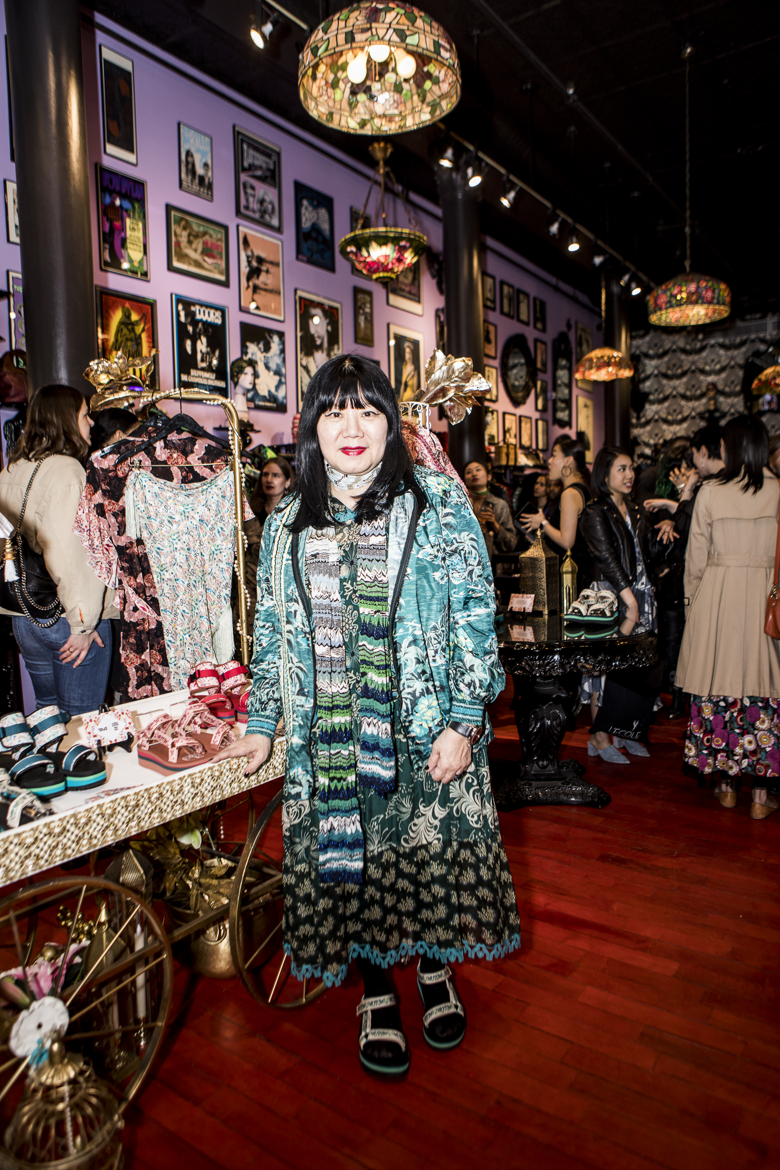 Anna Sui, Teva, April 2019