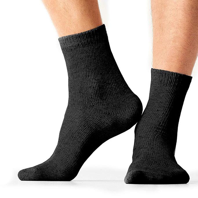 Seedve Men'sHemp Walking Socks