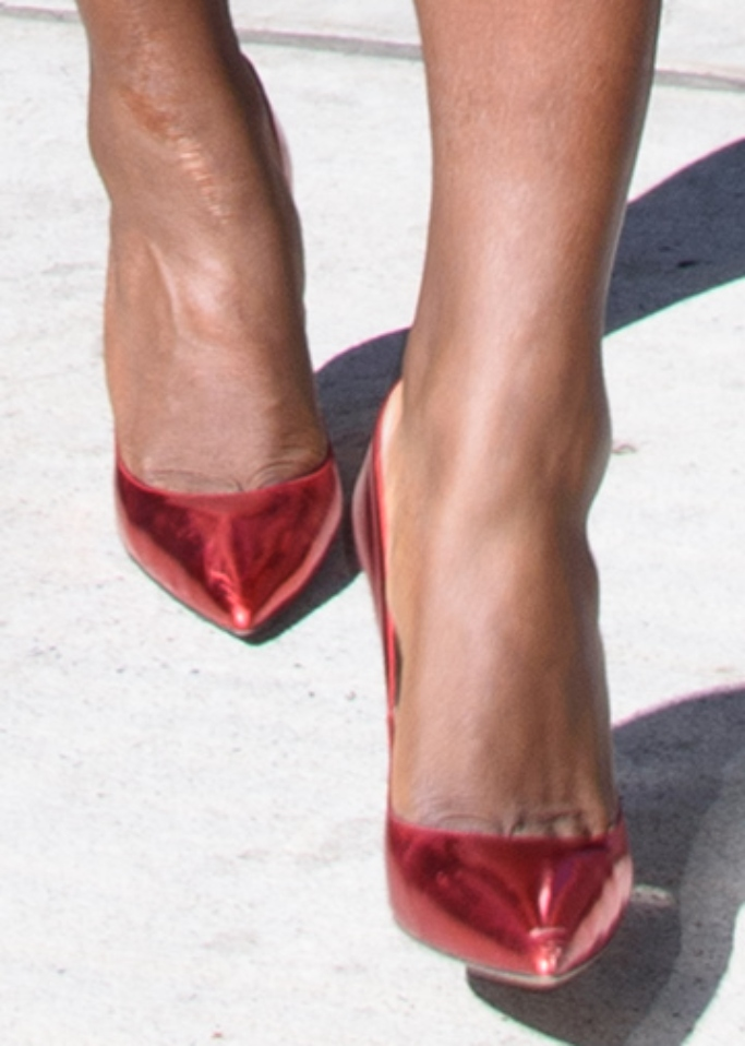 serena williams red heels, Giuseppe Zanotti, g heel